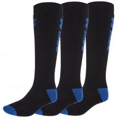 4F Skisokker, 3 par, Herre, Dark Blue