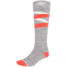 4F Skisokker, Dame, Cold Light Grey