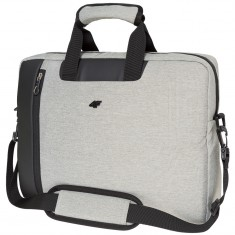 4F Messenger Bag, Light Grey