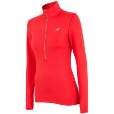 4F QuickDry Fleecegenser, Dame, Red