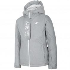 4F Sarah, Skijakke, Junior, Light Grey