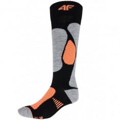 4F Skisokker, Dame, Black/Orange