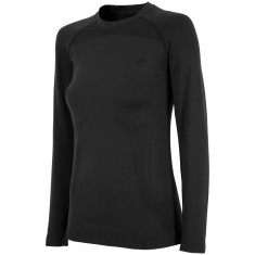 4F Undertrøye Seamless, Dame, Black