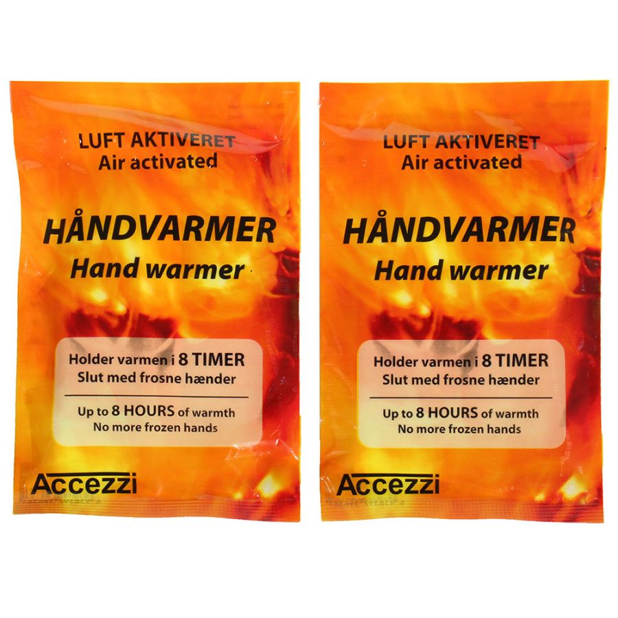 Accezzi Håndvarmere, 10 par