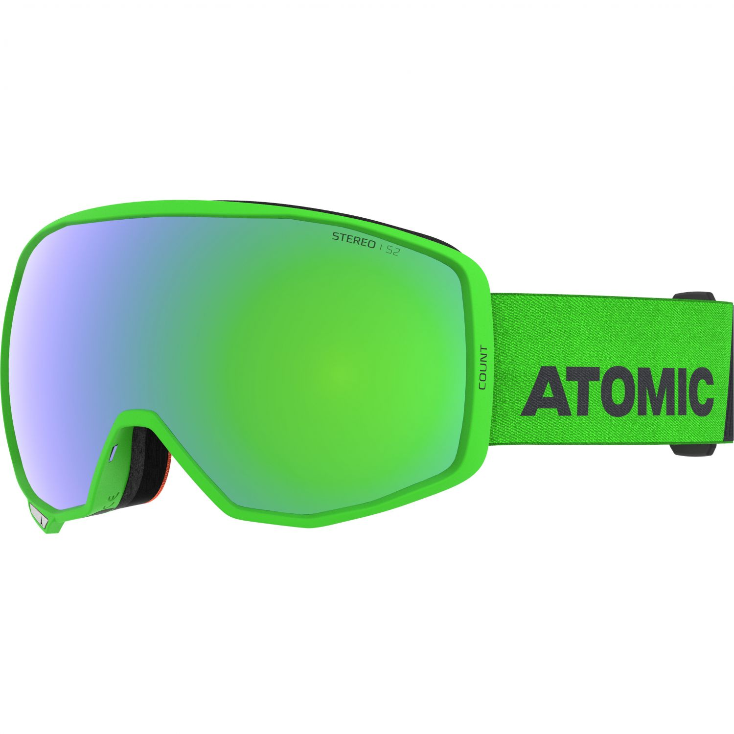 Atomic Count Stereo, Skibriller, Green