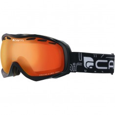 Cairn Alpha, skibriller, Mat Black, Orange Mirror