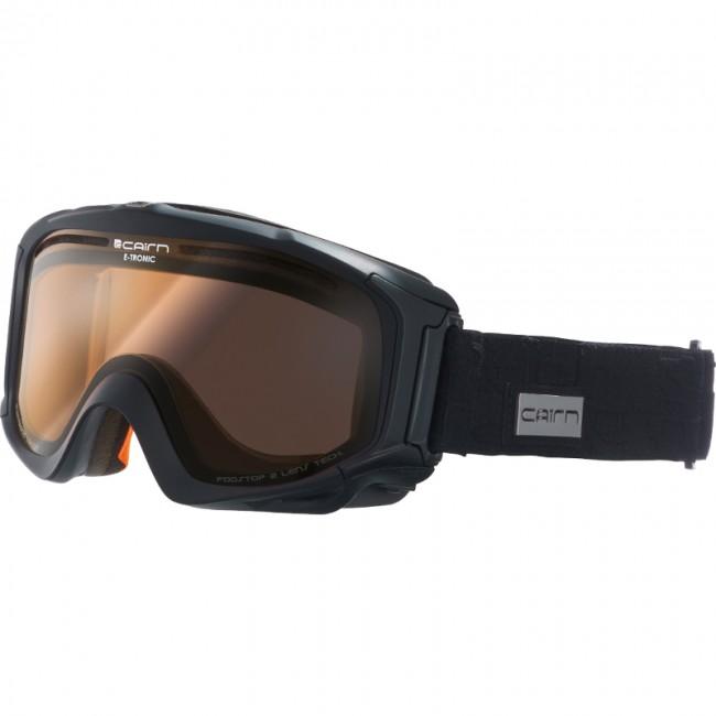 Cairn E-Tronic, Skibriller, Mat Black