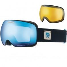 Cairn Focus, OTG Skibriller, Mat Black Blue Mirror