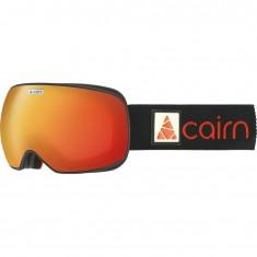 Cairn Focus, OTG Skibriller, Mat Black Orange Mirror