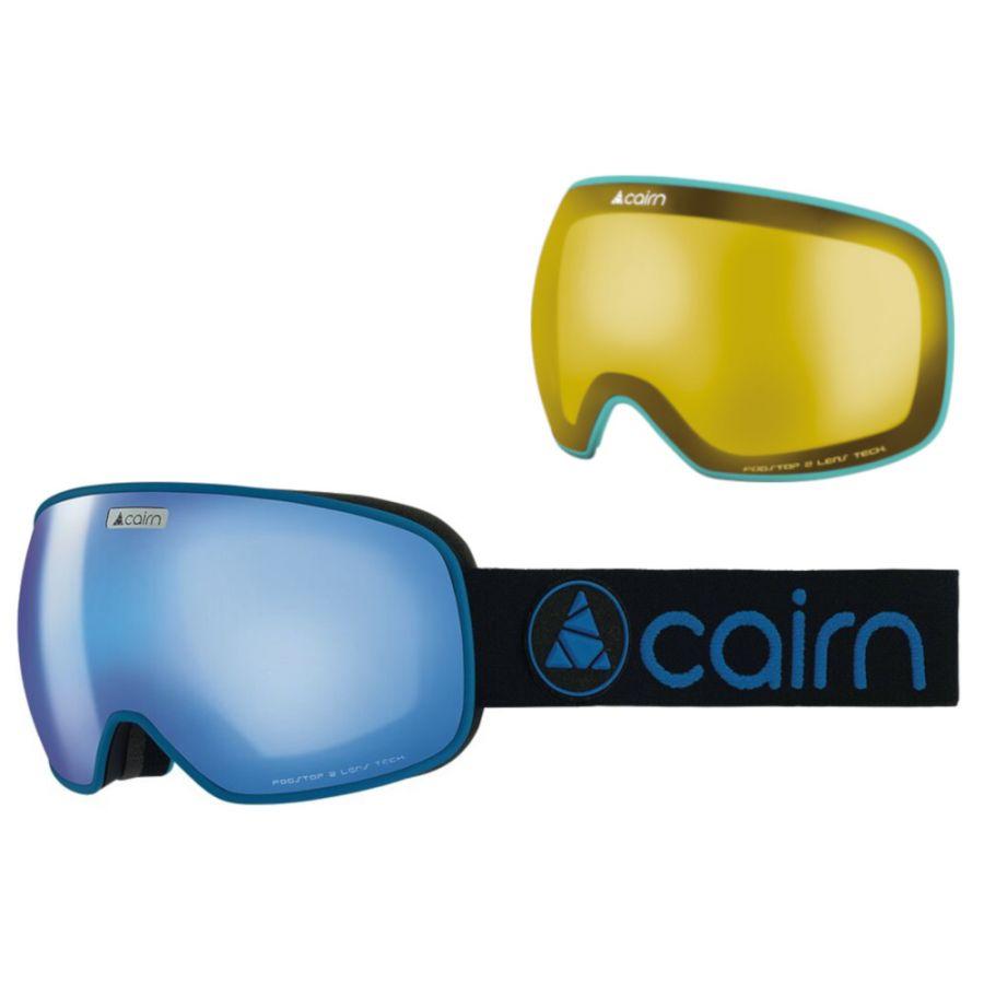 Cairn Magnetik, Skibriller, Mat Black blue