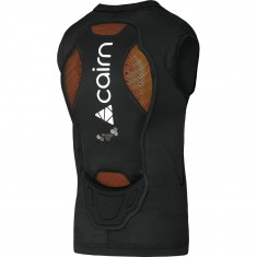 Cairn Proride D3O Ryggplate Vest, Mat Black