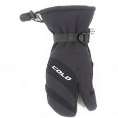 Cold 3-Finger, Skihandsker, Junior, Black