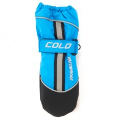 Cold Filur Mitten, Barn, Turquoise