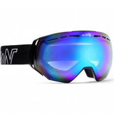 Demon Alpiner Goggles, Matt Black/Blue
