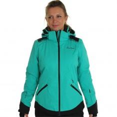 DIEL Zermatt. Skijakke, Dame, Spectra Green