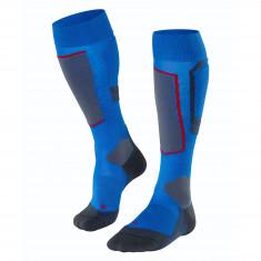 Falke SK4 Wool Skisokker, Herre, Cobalt Blue
