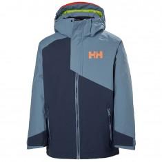 Helly Hansen Cascade Skijakke, Junior, North Sea Blue