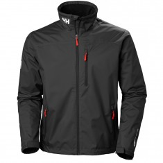 Helly Hansen Crew Midlayer Jacket, herre, Black