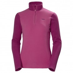 Helly Hansen Daybreaker 1/2 zip Fleece, Dame, Dragon Fruit