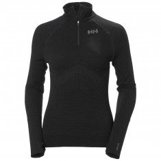 Helly Hansen H1 Pro Lifa Seamless 1/2 zip, Dame, Black