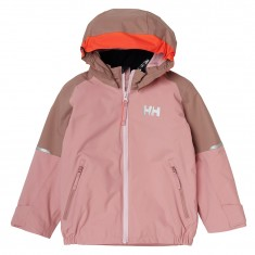 Helly Hansen K Shelter Regnjakke, Barn, Blush