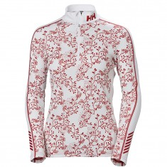 Helly Hansen Lifa Active Graphic 1/2 Zip, Superundertøy, Dame, Flag Red