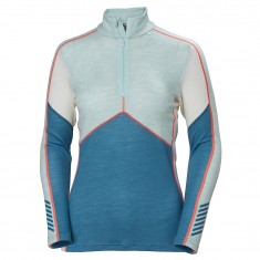 Helly Hansen Lifa Merino 1/2 zip, Dame, Blue Wave