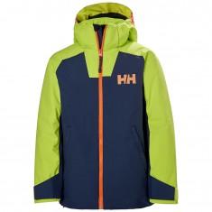 Helly Hansen Twister Skijakke, Junior, North Sea Blue