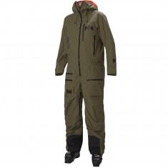 Helly Hansen Ullr Chugach Powder Suit, Herre, Uniform Green
