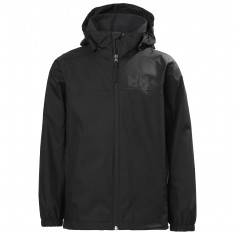 Helly Hansen Urban Regnjakke, Junior, Black