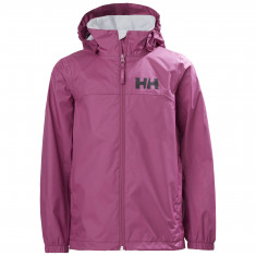Helly Hansen Urban Regnjakke, Junior, Magenta Haze