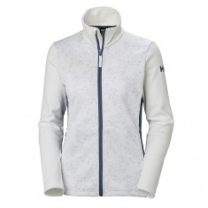 Helly Hansen W Graphic Fleecejakke, Dame, White