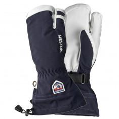 Hestra Army Leather Heli 3-Finger Skihansker, Marin