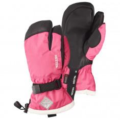 Hestra Gauntlet 3-finger Skihansker, Junior, Fuchsia