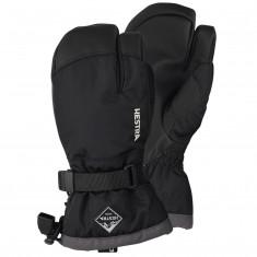 Hestra Gauntlet 3-finger skihansker, junior, sort