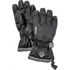 Hestra Gauntlet Skihansker, Junior, Black