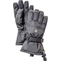 Hestra Gore-Tex Gauntlet Skihandker, Junior, Black