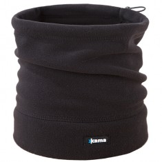 Kama Fleece Hals, Black