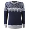 Kama Frida Merino Sweater, Dame, White