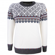 Kama Frida Merino Sweater, Dame, White