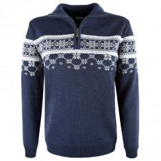 Kama Gunhild Merino Sweater, Dame, Navy