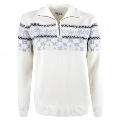 Kama Gunhild Merino Sweater, Dame, Off White