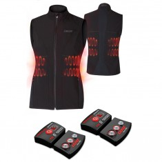 Lenz Heat Vest 1.0 + Lithium Pack rcB 1800, women, black