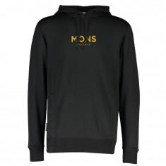 Mons Royale Decade Logo Hoody, Herre, Black