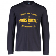 Mons Royale Icon LS, Herre, 9 Iron