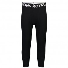 Mons Royale Shaun Off 3/4 Legging, Ullongs, Herre, Black