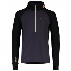 Mons Royale Traverse Midi Half Zip, Herre, Iron Gold