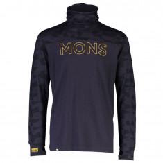 Mons Royale Yotei Powder Hood, Herre, Iron Camo