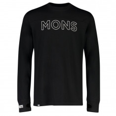 Mons Royale Yotei Tech LS, Herre, Black