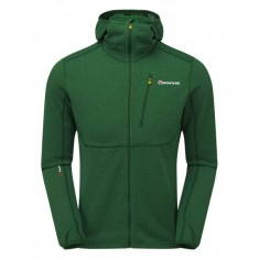 Montane Power Up Pull-Up Hoodie, herre, grønn